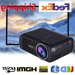 Mini 1080P HDMI Full LED Multimedia Projector Home Theater C