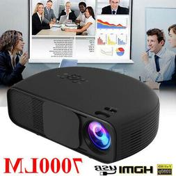 MINI 500LUMEN 3D 1080P HD LED VIDEO PROJECTOR HDMI/USB/SD/AV