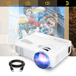 mini lcd home cinema projector 2400 lumens