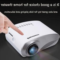 Mini LCD LED Projector Home Theater Cinema HDMI USB AV VGA P