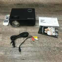 DBPOWER Mini LED Projector Multimedia RD-810 Home Theater Vi