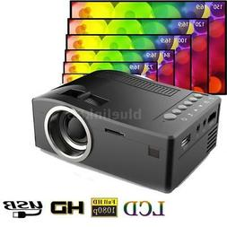 Mini Pocket HD 1080p Portable LCD Projector For Home Cinema