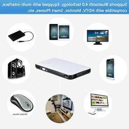 Mini Pocket Projector Smart TV Box 1G/8GB DLP Android WIFI U