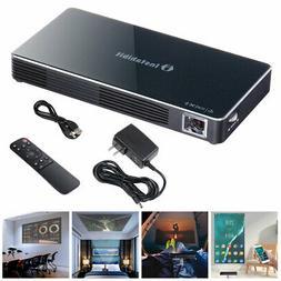 Mini Portable DLP Projector 3D HD Home Theater HDMI USB WIFI