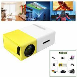 Mini Portable Pocket LED LCD Home Theater Projector HD 1080P