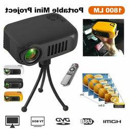 Mini Portable Pocket Projector HD 1080P Movie Video Projecto