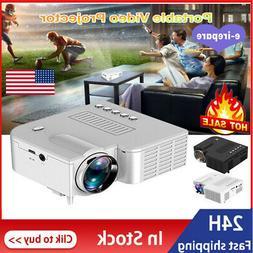 Mini Portable Projector LED HD1080P Micro Mobile Phone Video