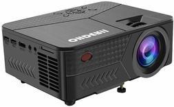 OHDERII Mini Projector,1080p, Compatible with HDMI,VGA, SD c