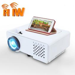 Mini Projector 2800 Lumens For Full HD Wireless For Phone Po