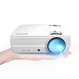"Mini Projector, DBPOWER Portable Projector 176"" Display 50,0"