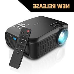 "Video Projector, DBPOWER 120 ANSI Home Projector 176"" Displa"