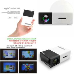 DeepLee DP300 Mini Projector, Portable LED Projector Home Ci
