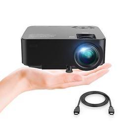 DBPOWER Mini Projector, 70% Brighter HD 1080P LED Video Proj