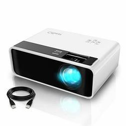 Mini Projector CiBest Video Projector Outdoor Movie 4200 lux