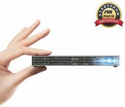 Mini Projector DLP- ANMADE Pocket Projector 1080P HD/USB/TF