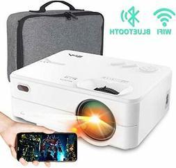 Mini Projector - Artlii Enjoy 2 HD WiFi Bluetooth Projector