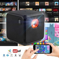XPRIT Mini Projector Home Theater WiFi Bluetooth Portable An