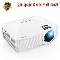 Mini Projector Multimedia Home Theater LED Projector Support