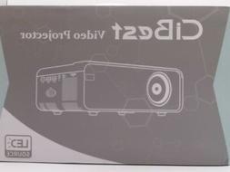 CiBest Mini Video Projector 4500L LED 1080P - New