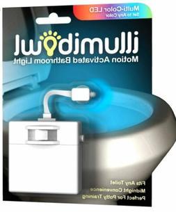 Illumibowl Motion-Activated Bathroom Toilet Night Light, Pot