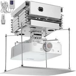 1m Projector Bracket Motorized Electric Lift 110V Video Proj
