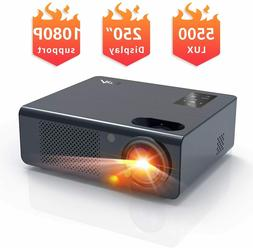Movie Projector, Artlii Full HD 1080P Home Theater Projector