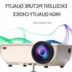Multimedia 1080P 4K FHD 3500 Lumens LED Wifi Mini Home Cinem