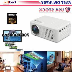 Multimedia 7000 Lumens HD WiFi bluetooth 3D 4K LED Cinema Th