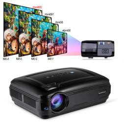 FHD HDMI Home Projector Portable LCD Display Video Projector