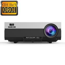 New Native 1080P Full HD Home Theater Video Projector LED Li