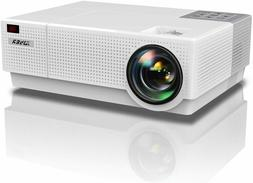 YABER Native 1080P Projector 6800 Lux Upgrade Full HD Video