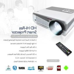 New! Hi-Res Smart Projector with Built-in Dual Core Android