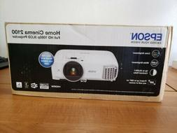 NEW - Epson Home Cinema 2100 3LCD Projector 1080p FULL HD -