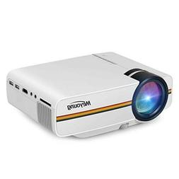NEW Meyoung TC80 LED Mini Projector, Home Theater LCD HD Mov