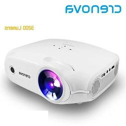CRENOVA New Video Projector For Full HD Home Theater Movie P