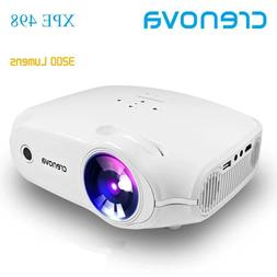 CRENOVA Newest LED Projector For Full HD 4K*2K Video Project