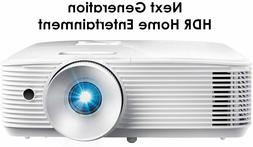 NIB Optoma HD28HDR Full HD 1080p HDR Home Entertainment Proj