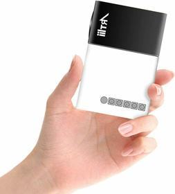 Pico Mini Pocket Video Movie Projector for Laptop iPhone Sma