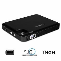 Magnasonic LED Pocket Pico Video Projector, HDMI, Battery, S