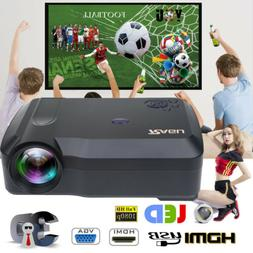Crenova Portable 1080P HDMI Video Projector Home Projection