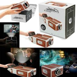 Portable Home Theater Projector WiFi Android Bluetooth 3D Ho