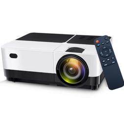 portable led projector home theater 2500 lumens
