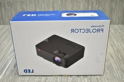 Portable Mini 1080P High Definition Multimedia Projector