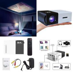 Artlii Portable Mini Home 1080P Projector with USB/SD/AV/HDM