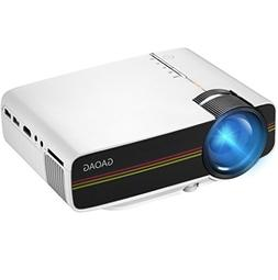 Projector, GAOAG Mini Projector Portable Video LED Projector