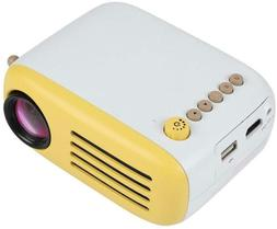 fosa Portable Mini Projector with Remote Control for Home Th