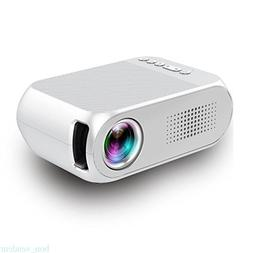 Portable Video Projector,Fosa YG320 LCD Mini Projector Suppo