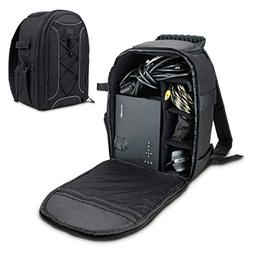 Portable Projector Carrying Case with Velcro Storage Divider