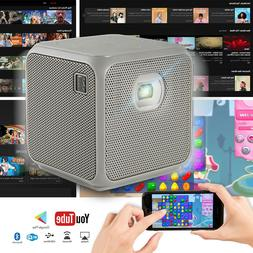 XPRIT Portable Smart Cube Projector Wi-Fi & Bluetooth, 50 AN