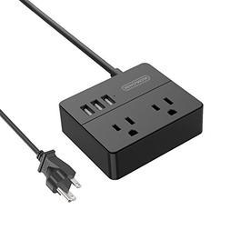 power strip cord portable